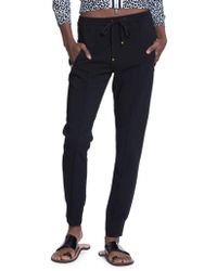 Tracy Reese - Solid Jogger Trousers - Lyst