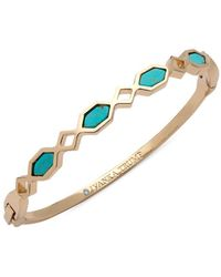 Ivanka Trump - Turquoise Re-constituted Stone Bangle - Lyst