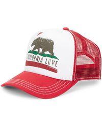 Dorfman Pacific - California Love Trucker Hats - Lyst