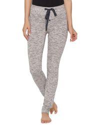 Felina - Textured Skinny Jogger Trousers - Lyst