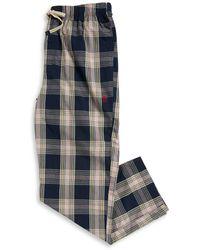 Original Penguin - Plaid Drawstring Pants - Lyst