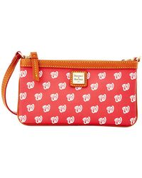 Dooney & Bourke - Washington Nationals Large Wristlet - Lyst