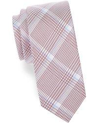 Cole Haan - Plaid Silk-blend Tie - Lyst