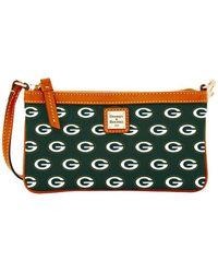 Dooney & Bourke - Green Bay Packers Large Wristlet - Lyst