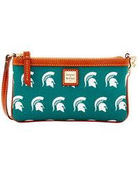Dooney & Bourke - Sports Michigan State Wristlet - Lyst