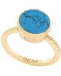 Cole Haan - 3/25 Spring Street Semi-precious Round Stone Ring - Lyst