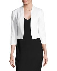 Phase Eight - Textured Cropped Jacket - Lyst