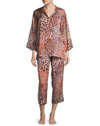 N Natori - Animal Printed Pyjamas - Lyst