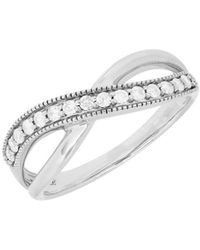 Lord & Taylor - Diamond & 14k White Gold Ring - Lyst