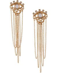 BCBGeneration - Cubic Zirconia Front And Back Earrings - Lyst