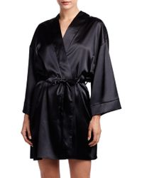 Rya Collection - Embroidered V-neck Kimono - Lyst