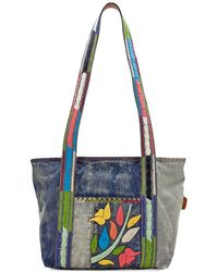 Patricia Nash - Nevoso Denim Shoulder Bag - Lyst