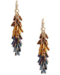 Nanette Lepore - Beaded Drop Earrings - Lyst