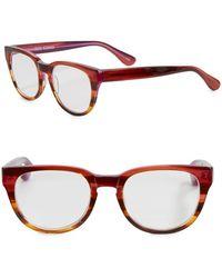 Corinne Mccormack - Mel 57mm Round Reading Glasses - Lyst