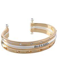 BCBGeneration - Blessed Three-row Cuff Bracelet - Lyst