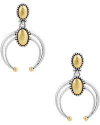 Lucky Brand - Lost And Found Calcite Dangle & Drop Earrings - Lyst