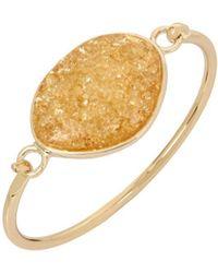 Kenneth Cole - Detailed Cuff Bracelet - Lyst
