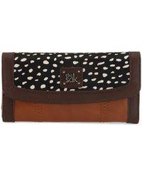 The Sak - Iris Leather Flap Wallet - Lyst