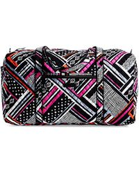 Vera Bradley - Large Quilted Duffel Bag - Lyst