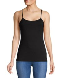 Lord & Taylor - Classic Scoopneck Camisole - Lyst