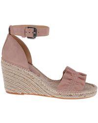 Splendid - Bedford Suede Espadrille Wedge Sandals - Lyst
