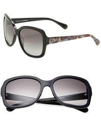 Diane von Furstenberg - Tally Anne 57mm Square Sunglasses - Lyst