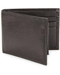 Perry Ellis - Leather Bi-fold Wallet - Lyst