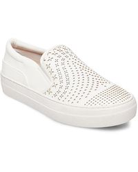 Lord & Taylor - Gavin Perforated Slip-on Sneakers - Lyst