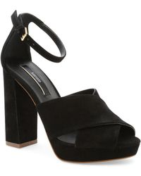 Kensie - Poliana Suede Dress Sandals - Lyst