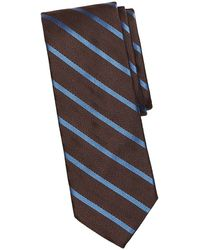 Brooks Brothers Red Fleece - Chevron Striped Silk Tie - Lyst