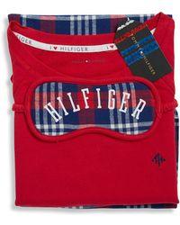 Tommy Hilfiger - Plaid Pyjama Set - Lyst