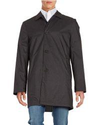 Hart Schaffner Marx - Reversible Rain-repellent All-weather Coat - Lyst