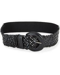 Fashion Focus - Wide Braided Belt - Lyst