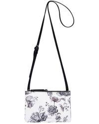 Fiorelli - Bunton Double Compartment Floral Crossbody Bag - Lyst
