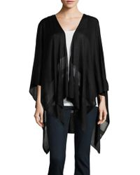 Lauren by Ralph Lauren - Open-front Sheer Shawl - Lyst