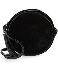 Sole Society - Velvet Circle Crossbody Bag - Lyst