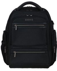 Kenneth Cole Reaction - Double Pocket Double Gusset Tech It Backpack - Lyst