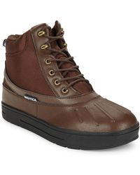 Nautica - New Bedford Duck Boots - Lyst