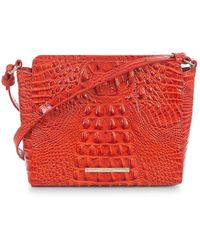 Brahmin - Melbourne Carrie Leather Mini Bag - Lyst