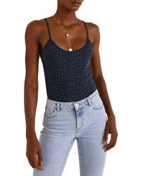Mango - Tomas Pop Strap Top - Lyst