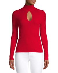 C/meo Collective - Headlights Knit Cutout Sweater - Lyst