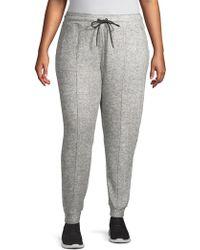 Marc New York - Plus Drawstring Heathered Sweatpants - Lyst