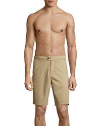 Lucky Brand - Stretch Swim Shorts - Lyst