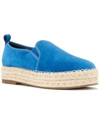Blondo - Basha Suede Waterproof Espadrille Loafers - Lyst