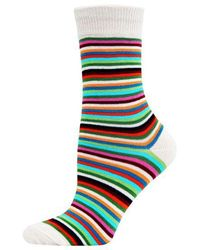 Hot Sox - Striped Trouser Socks - Lyst