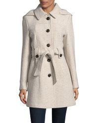 Gallery - Textured Trench Coat - Lyst