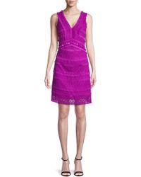 Sam Edelman - Tassel Lace Dress - Lyst