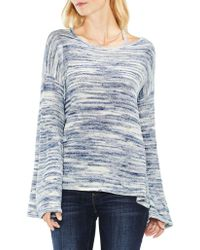 Vince Camuto - Space Dye Long-sleeve Top - Lyst