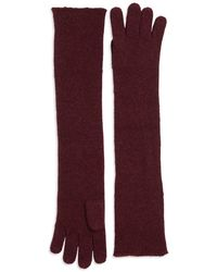 Lord & Taylor - Long Knit Gloves - Lyst