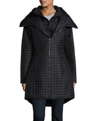 Dawn Levy - Hooded Quilted Coat - Lyst